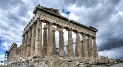 Image of Parthenon in Athens, Greece